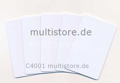 Evolis Plastikkarten Classic White 0,76mm
