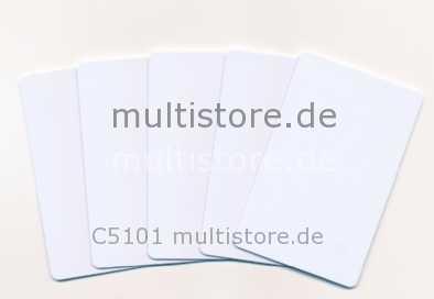 Evolis Rewritable Cards 0,76mm blau