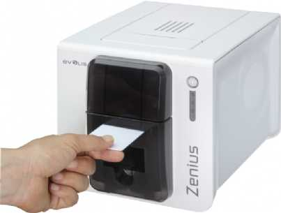 Evolis Zenius Classic braun USB BDL