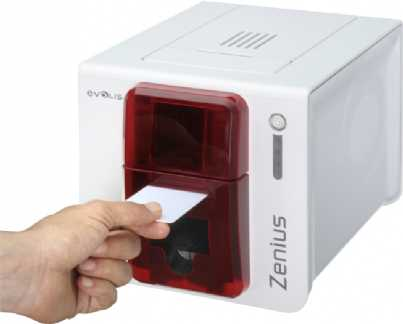 Evolis Zenius Expert rot USB ETH SMART BDL