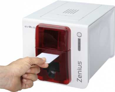 Evolis Zenius Expert rot USB ETH MAG BDL