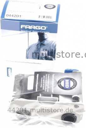 Fargo Farbband DTC300 C30 schwarz Premium (1000)